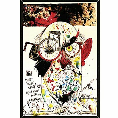 RALPH STEADMAN ~ SELF PORTRAIT~ 24x36 ART POSTER ~ NEW//ROLLED