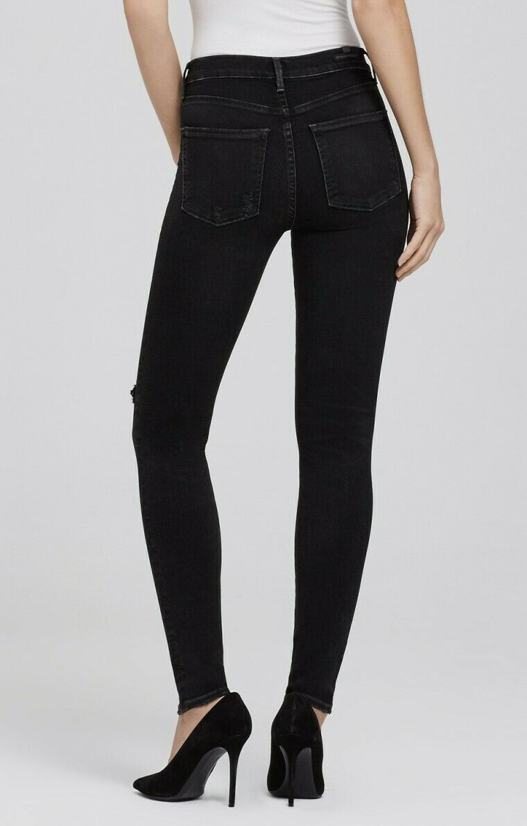 Neuf pour Femme Citizens Of Humanity Rocket Größe Haute Skinny Jeans Sz 32