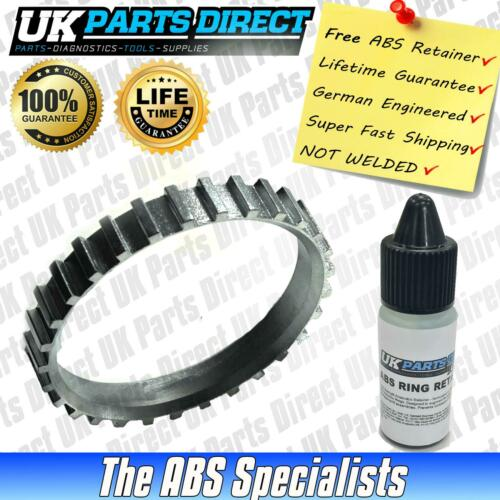 Front *FREE RETAINER* 1991-2001 Vauxhall Astra Mk3 ABS Reluctor Ring
