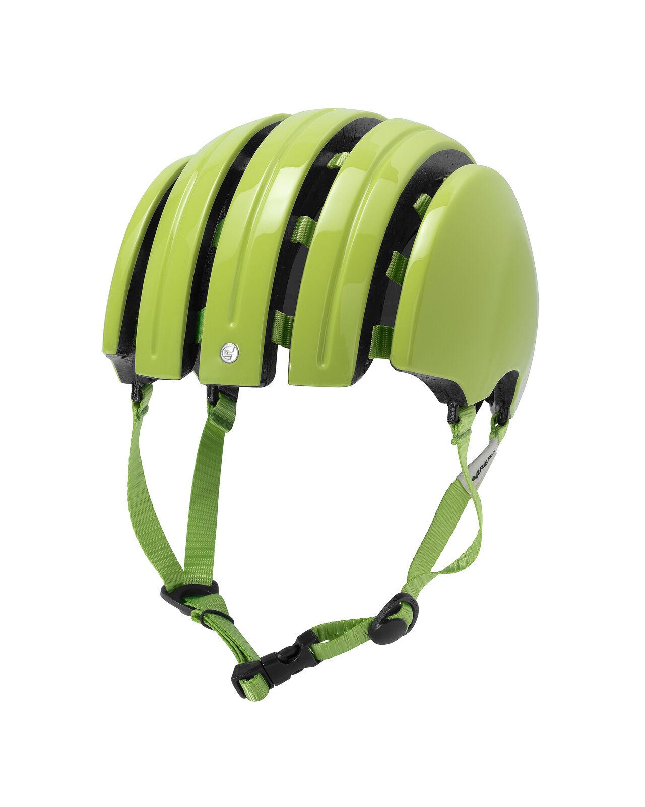 Carrera Bike Helmet Foldable _C Light Green Plain Colour Folding