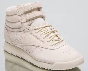 Details zu Reebok Women's Freestyle Hi Ripple Lifestyle Shoes Chalk Sneakers Mid Top CN3403