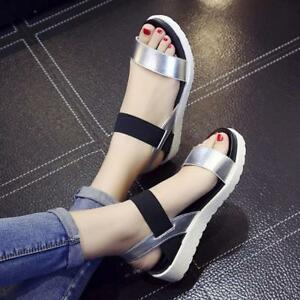 New-Fashion-Summer-Women-Sandals-Flat-Casual-Leather-Comfortable-Ladies-Shoes