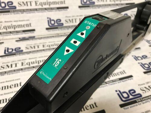 Universal Instruments UIC 16mm Green Precision Pro Feeder 49680501 w// Warranty!!
