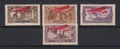 Syrien Ein GefüHl Der Leichtigkeit Und Energie Erzeugen 1925 Flugpostmarken Mit Aufdruck 280-83 *, 26207