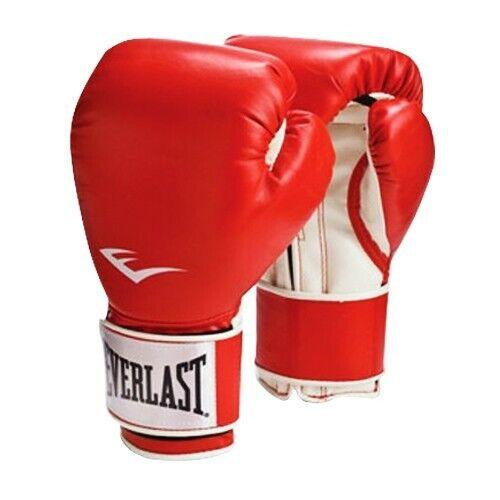 NEW Everlast Pro Style Training Gloves  ✅ Everlast Leather Pro Boxing 14 OZ NEW