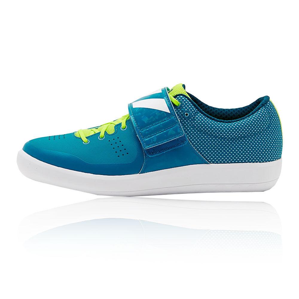 Adidas Adizero Shotput Mens Blue Track Field Sports Shoes Trainers Pumps