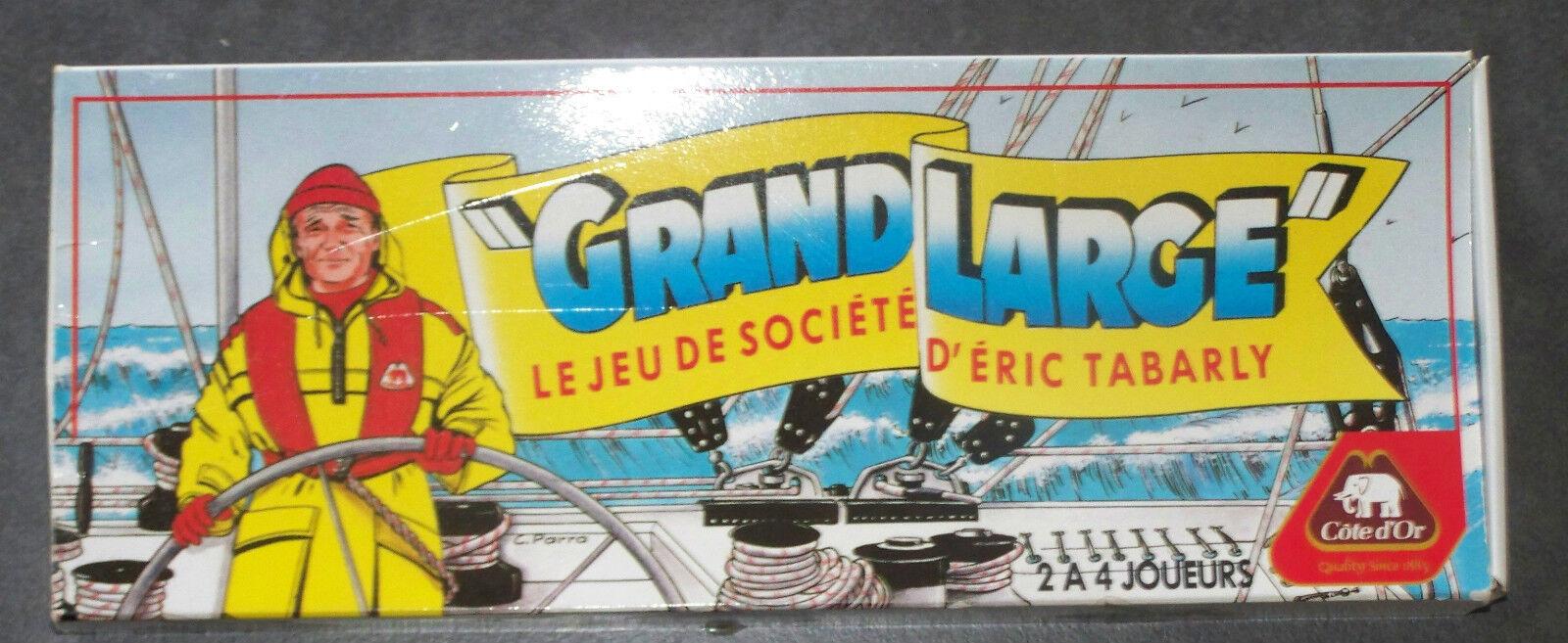 @ RARE JEU   GRAND LARGE   LE JEU DE SOCIETE D'ERIC TABARLY, PUB COTE D'OR