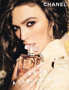PUBLICITE ADVERTISING 035  2011  CHANEL  parfum COCO MADEMOISELLE