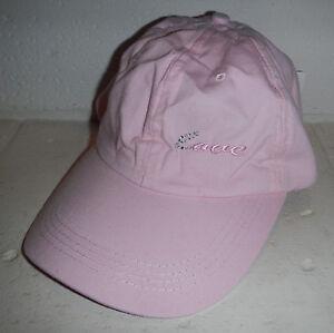Nwt Ulta Beauty Cosmetics Pink Womens Love Baseball Hat