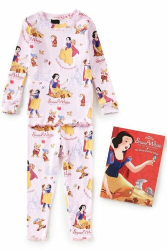 Books To Bed Snow White 3 Piece Set Disney Princess Shirt Pants and Book All New