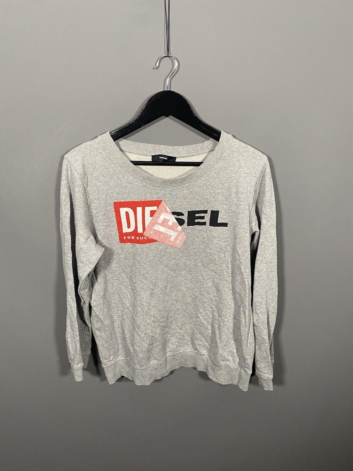 DIESEL Sweatshirt - Size Small - Grey - Great Condition - Men's