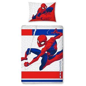 Spiderman-Junior-Cuna-Cama-edredon-cubrir-nuevo-metropolis-Ropa-De-Cama