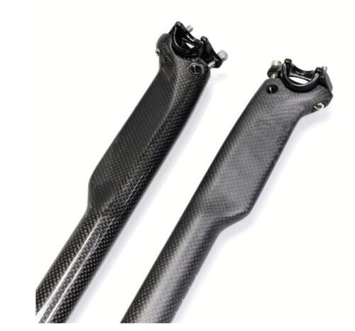 Carbon Fiber Bike Seat post 27.2mm//30.8mm//31.6mm Road MTB Bicycle Seat Post