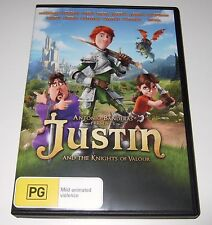Justin And The Knights Of The Valour (DVD, 2014)