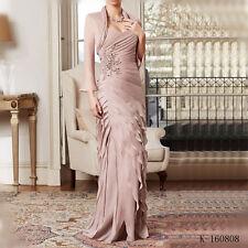 Vestido de Madrinha New Elegant Sweetheart Mother of the Bride With Jacket 2017
