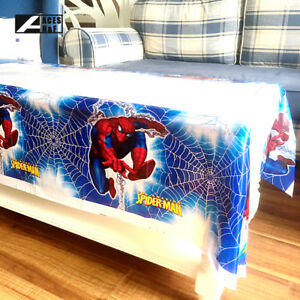 Image Is Loading 1pcs Spider Man Theme Birthday Party Decoration Disposable