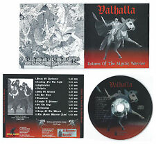 Valhalla (USA) - Return Of The Mystic Warrior CD No Remorse Bonus Tracks CULT
