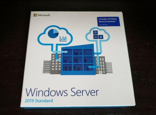 Microsoft Windows Server 2019 64-bit With 16 Core 10 User P73-07701