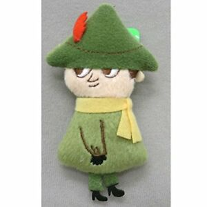 SEKIGUCHI-Moomin-Snufkin-Small-Plush-Badge-for-Bag-Pouch-H9-3xW5xD1-8cm
