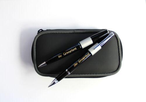 Premium Metall Kugelschreiber Rollerpen 6 Varianten mit IHRER Diamant-Gravur !