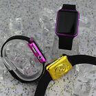 LED Electrónica Digital Reloj De Pulsera Resistente al agua Unisex Hombre Mujer