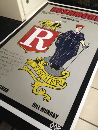 """Rushmore 24/"""" x 36/"""" movie poster print"""