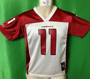 J547-155-NFL-Arizona-Cardinals-Larry-Fitzgerald-11-Reebok-Jersey-Youth-Medium