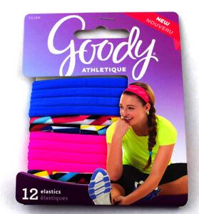 Image is loading Goody-Ponytail-Holders-Elastic-Hair-Ties-Blue-Pink- 03ea4f0c8b3