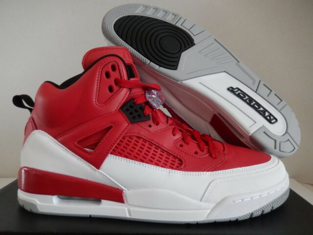 reputable site 47398 2956a Jordan Spizike Size 13 Gym Red Black White Wolf Grey Mens Shoe 315371-603