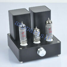 Black Mini Vacuum Tube AMP Audio Amplifier APPJ EL84 12AX7B Class A power Amp*1