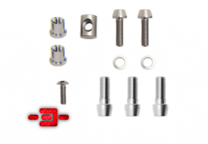3T ARX II Stem Complete Titanium Bolts Hardware Upgrade Kit