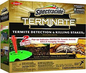 Marque Populaire Spectracide Résilier Termite Détection & Tuant Stakes 2 (recharge) (hg-96116)-afficher Le Titre D'origine