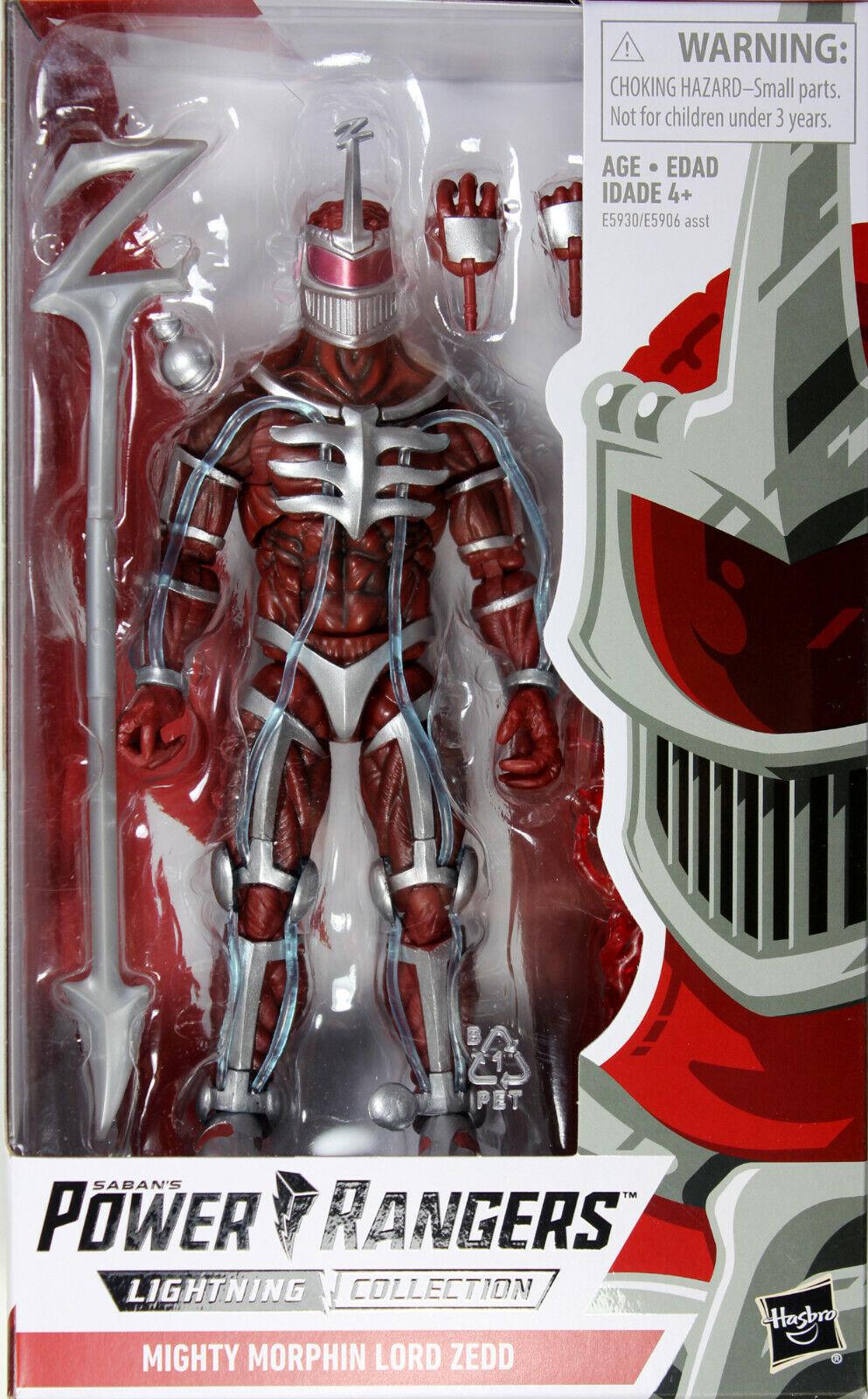 Power Rangers Lightning Collection  Mighty Morphin Lord Zedd Figura De Acción