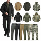Men Tactical Military Outerwear Jacket Outdoor Hunting Camping Waterproof Coat
