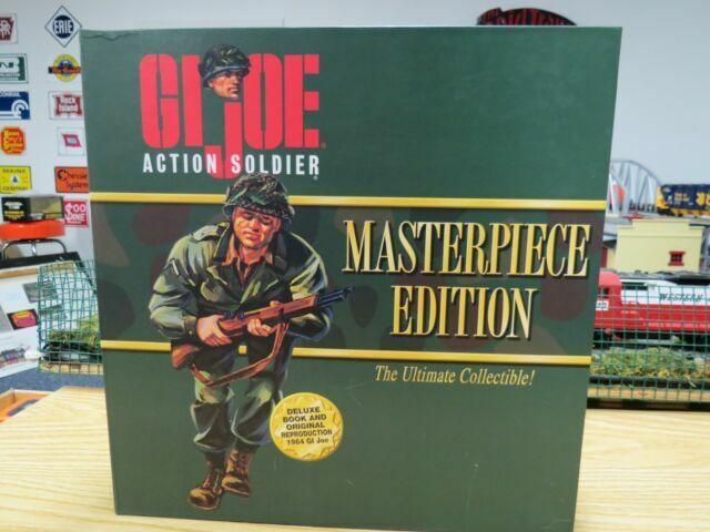 1996 GI JOE MASTERPIECE EDITION Action Soldier OR Sailor With Book NEW