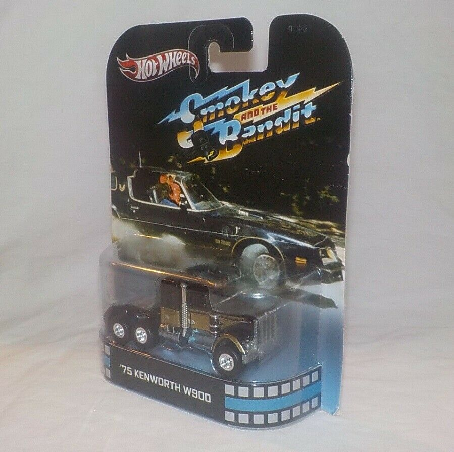 2013 Hot Wheels Retro Entertainment SMOKEY and the BANDIT BANDIT BANDIT 75 KENWORTH W900 MOCC 6854fe