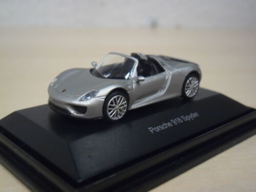Porsche 918 Spyder Schuco 45 261 3900-1:87 silber metallic Nr