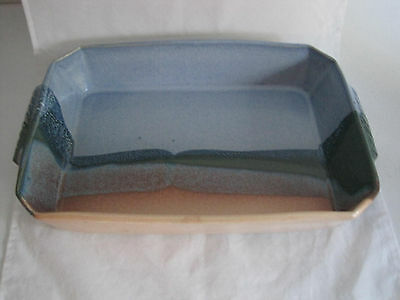 Ojo Sarco Pottery Baking Dish Pan Willson Riggs Signed Southwest Art Pottery