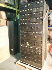 Vintage Colossal 1940s American Industrial Multi Drawer Parts Cabinet 87 H