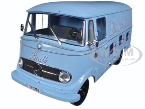 "1957 MERCEDES L319 /""LINDT /& SPRUNGLI/"" 1//18 DIECAST CAR MODEL BY NOREV 183418"