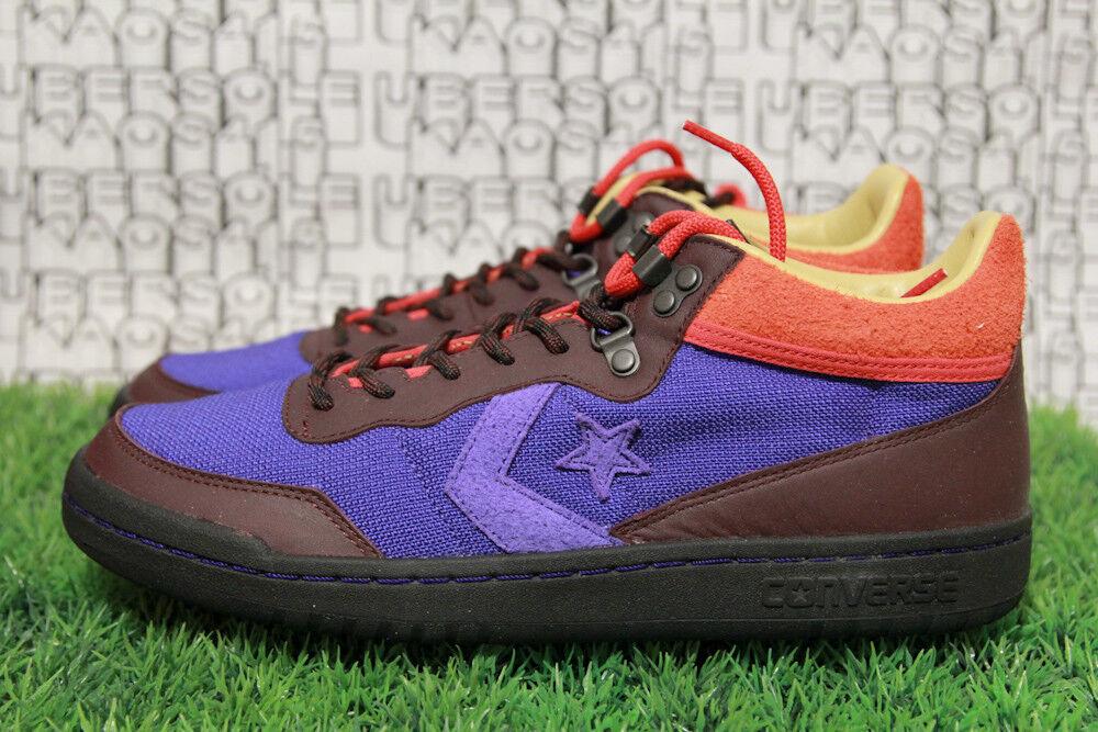RARE SOLD OUT Converse CLOT Fastbreak Mid purple brown off white 160284C MEN 9.5