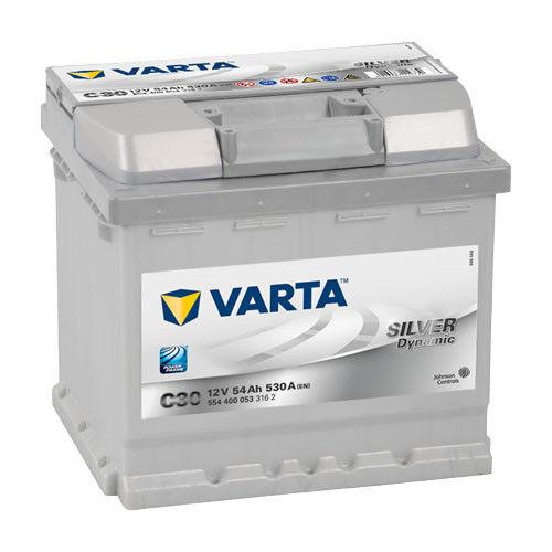 VARTA Silver Dynamic Autobatterie C30 12V 54Ah ers. 36 41 43 44 50 55 Ah