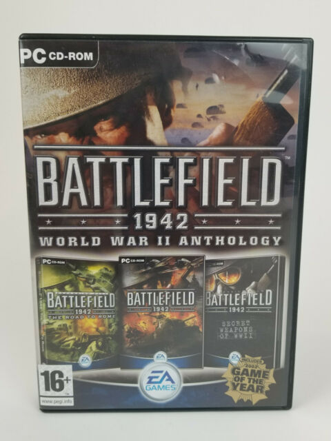 Battlefield 1942 World War II Anthology PC Computer Game CD-ROM Complete