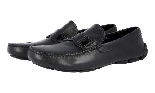 veau 44 de cuir 2dd141 en Prada noir de 5 Chaussures Logo 5 luxe 9 43 Cayman Zx81ZF