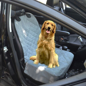 Car-Front-Single-Seat-Non-slip-Pet-Dog-Seat-Cover-Protector-Pad-Basket-Foldable