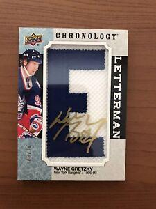 2018-19-Wayne-Gretzky-Chronology-Letterman-Auto-Patch-10-Very-Rare
