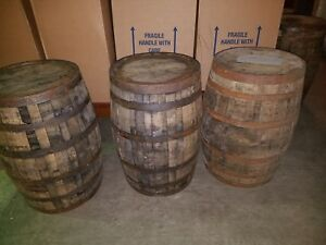 Whiskey-Barrel-Used-Whisky-Keg-53-Gallon-Oak-Wood-LOCAL-PICK-UP-ONLY