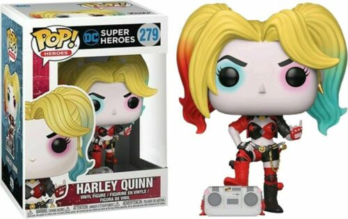 Vinyl Figure ***PRE-ORDER*** Batman Harley Quinn with Boombox Rebirth Pop