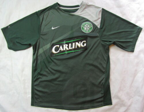 CELTIC GLASGOW Training shirt jersey NIKE 20082009 Scottish Club adult SZIE S