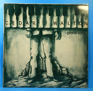 CEDAR-WALTON-PIANO-SOLOS-LP-1981-ORIGINAL-PRESS-GREAT-CONDITION-VG-VG